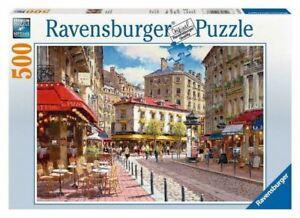Ravensburger - Quaint Shops 500 Pieces Jigsaw Puzzle