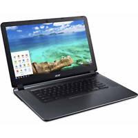 """Acer CB3-532-C47C Chromebook 15.6"""" HD Celeron N3060 1.6GHz 2GB RAM 16GB eMMc"""