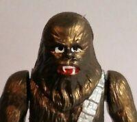Star Wars BOOTLEG GOLD CHEWBACCA ORITET C9+ RUSSIAN Loose POTF2 ESB ROTJ AFA SW