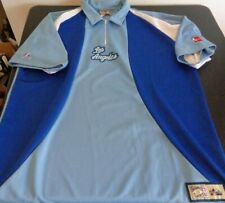 LOS ANGELES LAKERS Hardwood Classics NBA Majestic XL Shooting Warm Up Shirt Blue