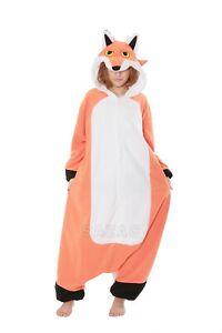 SAZAC Red Fox Kigurumi - Adult Costume from USA