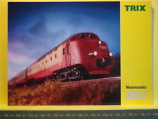 Catalogue TRIX MINITRIX 2007 F Etoile du Nord PBA CC 40100 40108 1800 1805 Inox