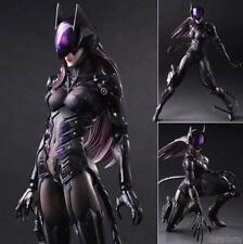 "DC Comics Variant Play Arts Kai Catwoman TETSUYA NOMURA 10"" PVC Action figure"