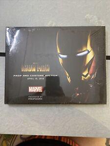 Propworx Iron Man Prop and Costume Auction catalog Hardcover Marvel Studios
