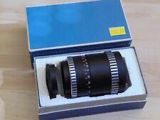 Lens Objektiv aus Jena Sonnar 3,5 f=135 M42 Schwarz Zebra mit Verpackung