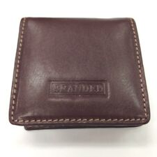 Genuine Leather Magnetic Coin Purse for Gents or Ladies Branded by Golunski Brown