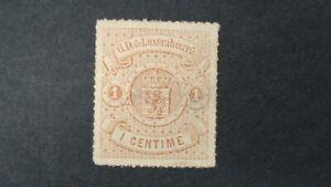 LUXEMBOURG SCOTT# 17 MNG VF+  LOT# 72721
