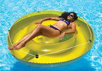 """Swimline 9050 Fun Island Sun Tan Inflatable Swimming Pool Lounger Float-72"""""""