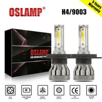 2x CREE COB H4 9003 LED Headlight Kit 1500W 225000LM Hi/Low Beam Bulb 6500K Lamp