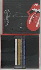THE ROLLING STONES BOX COLLECTOR'S COFFRET 4 CD NOIR AND BLEU STIKY DOIGTS SS