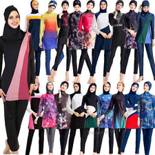 Muslim Women Swimwear Bathing Suit Beachwear Costumes Islamic Burkini Modest New