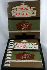 Cyrano de Casserole A Nosegay of Casserole Recipes by Ruth Chier Rosen English