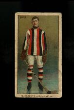 1910 1910-11 C56 Imperial Tobacco ITC #3 Gordon Roberts Ottawa Centered HOF RC