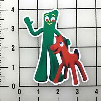 "Gumby 4"" Tall Vinyl Decal Sticker BOGO"