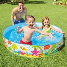 INTEX SNAP SET PADDLING POOL MY BEACH DAY 5-FT BY 10-INCH BRAND NEW