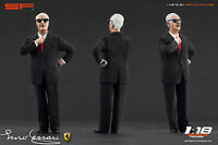 1:18 Enzo Ferrari black suit VERY RARE!!! figurine NO CARS !! for diecast cars