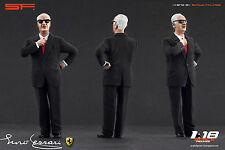 1:18 Enzo Ferrari black suit VERY RARE!!! figurine NO CARS !! for diecast cars