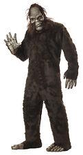 Adult Gorilla Sasquatch Big Foot Full Suit Costume One Size