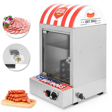Hot Dog Steamer Machine Cooker Commercial Electric Warmer Display Showcase 1500W