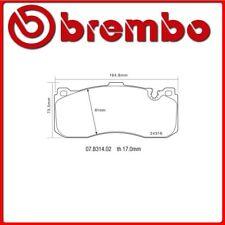 07.B314.02#25 PASTIGLIE FRENO ANTERIORE SPORTIVE BREMBO SPORT BMW 1 (E87) 118 d