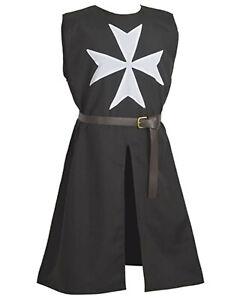 Medieval Armor Templar Knight Tunic Medieval Tunic Reenactment Costume