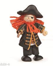 Le Toy Van - Budkins BK998 - Biegepuppe Pirat Barbarossa für Puppenhaus