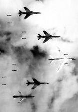 "B-66 Destroyer F-105 Thunderchief Bombing Mission 13""x19"" Vietnam War Poster 162"