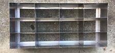 VWR Freezer Rack, Horizontal, 3-Shelf, Stainless Steel, 82024-518