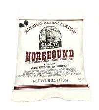 Claey's HOREHOUND Old Fashioned Hard Candy (2)  6 OZ BAG - FRESH & BEST PRICE