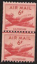 U.S. UNUSED C41    MNH     Line Pair       (R3748)