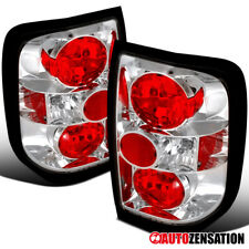 For 1996-2004 Nissan Pathfinder 1997-2004 Infiniti QX4 Clear Tail Lights Lamps