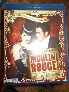 "DVD BLU-RAY ""MOULIN ROUGE""  N.KIDMAN - E. McGREGOR"