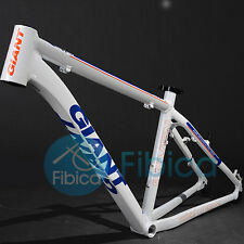 "New GIANT XTC 7 Seven Alloy MTB Mountain Bike Frame BSA 26er 19"" Size M White"