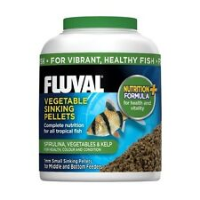 Fluval Vegetable Sinking Fish Food Pellets 90g