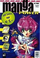 MANGA Power n. 1 particolare Gunsmith Cats, Chobits, turn A Gundam, Psychic Academy