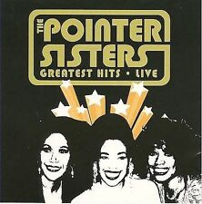 The Pointer Sisters Greatest Hits Live CD He's So Shy Slowhand I'm So Excited
