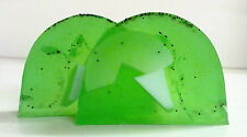 TWO SLICES U.K HAND MADE SPICY APPLE SOAP >SUPERB,SENSUAL& LUXURIOUS<<  FREEpp