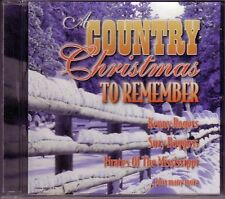 Country Christmas To Remember CD Classic Great GLEN CAMPBELL MERLE HAGGARD
