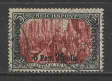 1900 German offices in MOROCCO  6 P. 25 cts.  with op used -TANGER-  € 400.00