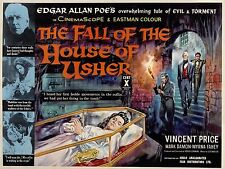 FALL OF THE HOUSE OF USHER ( DVD, 1960) HORROR POE VINCENT PRICE