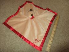 Baby Essentials Security Blanket Lovey Blankie Baby's First Christmas Reindeer