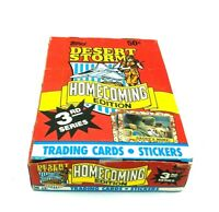 Sealed Topps DESERT STORM HOMECOMING EDITION 3RD SERIES Trading Cards 36 packs