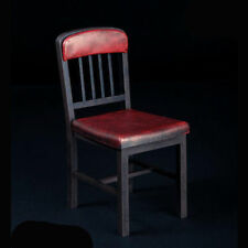 """1/6 Scale Chair Assembled Plastic Model For 12"""" Action Figure Body Hot Toys Red"""
