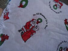 Nos Vtg Holiday Christmas Jockey White Cotton Briefs Wrapped Up In You Sz 32 Usa