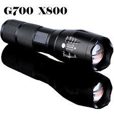 G700 x800 8000lumen CON ZOOM XML T6 LED 18650 Linterna Foco Linterna Ligero