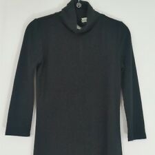Almost Famous Womens Dress Black Backless Mock Neck Sz Small