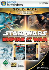 Star WARS EMPIRE AT WAR-ORO Pack Tedesco Top
