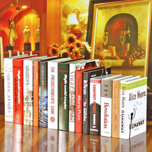 Fake Books Home Decoration Fashion Modern Office Book Hotel Desktop Ornaments