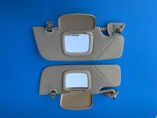 Ford Mustang Sun Visors 2005-2009 Driver & Passenger Hardtop TAN Sunvisors *FAST