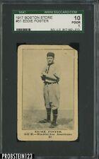 1917 Boston Store #51 Eddie Foster Washington Americans SGC 10 Poor 1